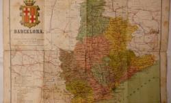 BARCELONA MAPA ENTELADO