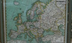 EUROPA 1934 enmarcado