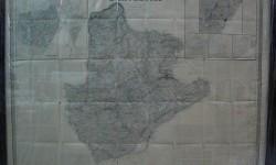 PLANO BARCELONA 1852-ENMARCADO