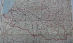 Carta Francia entelado 100x90 cm