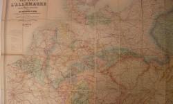 Mapa Alemania 1870