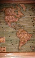 Mapa América Paluzie 1932