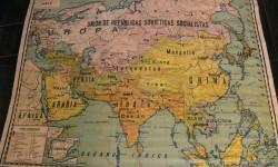 mapa escuela ASIA PALUZIE 1934 - 130x110 cm
