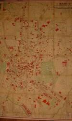 Mapa Madrid 1940