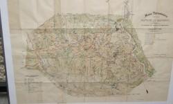 Mapa topografico Monserrat  1900