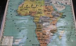Mapa Ure África 1935