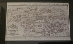 Plano Barcelona1929 enmarcado