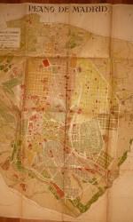 Plano Madrid 1910