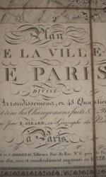 ANTIGUO MAPA PARIS 1828 X.GIRARDS -  620 €  (1)
