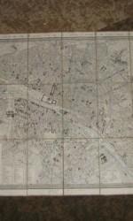 ANTIGUO MAPA PARIS 1828 X.GIRARDS -  620 €  (2)