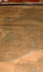 MAPA IRLANDA ENTELADO 1890   120X90 CM -  350 €