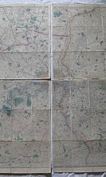 MAPA LONDRES 1838 ENTELADO - 1100 € (2)