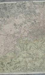 MAPA LONDRES ALREDEDORES ENTELADO 1880 - 450 €