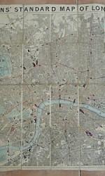 MAPA LONDRES COLLINS 1900 -  280 €