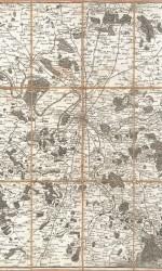 MAPA PARIS 1775-1777  80X52 CM  ESNAUTS - CAJA ORIGINAL - 900 €