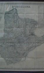 PLANO BARCELONA 1852-ENMARCADO -  700 €
