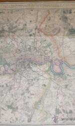 PLANO LONDRES  1870 - 550 €