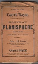 carta planisphere taride 90 x140 , 200 €