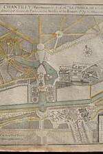 mapa 1705 plan chantilly - 180 €
