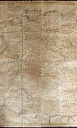 mapa alemania  aprox 1780    600 €