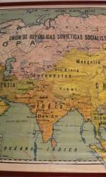 mapa escuela ASIA PALUZIE 1934 - 130x110 cm  750 €