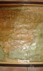mapa españa y portugal año 1931  paluzie