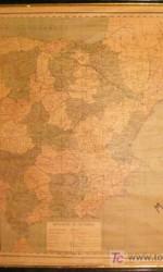 mapa politico españa escolar - 90x70 cm