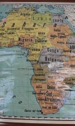 mapa ure africa 1935  600 €