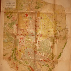 plano madrid 1910 -  200 €