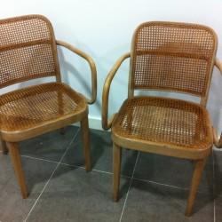 sillas originales thonet 1930 - 250 € cada una