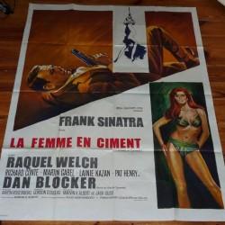 cartel cine original 160 cm x 120 cm  1965 - la femme
